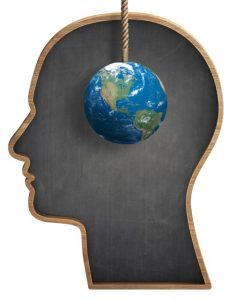 Earth-front-of-black-human-head-shaped-blackboard-000062884738_Small